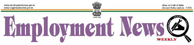 Employment News pdf 6 April to 12 April 2019