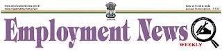 Employment News 10 - 16 November  2018 - Download PDF