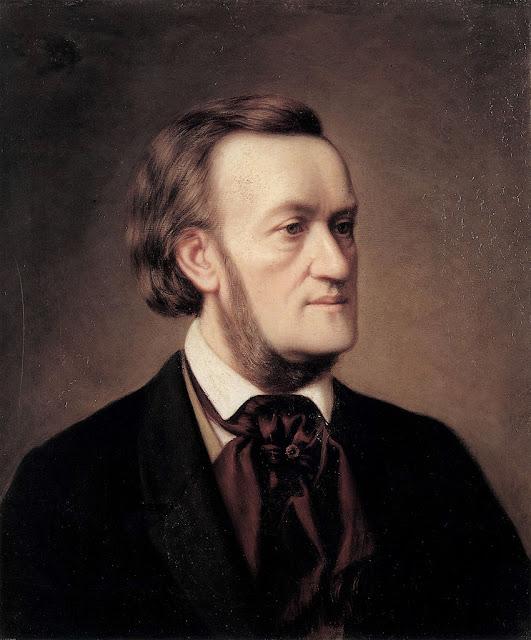 Cäsar Willich, Porträt Richard Wagner (ca. 1862)