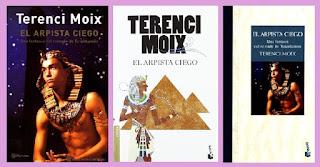 portadas de la novela histórica El arpista ciego, de Terenci Moix