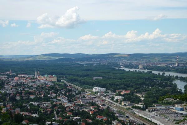 vienne döbling stadtwanderweg 1 kahlenberg nussdorf randonnée panorama klosterneuburg abbaye danube
