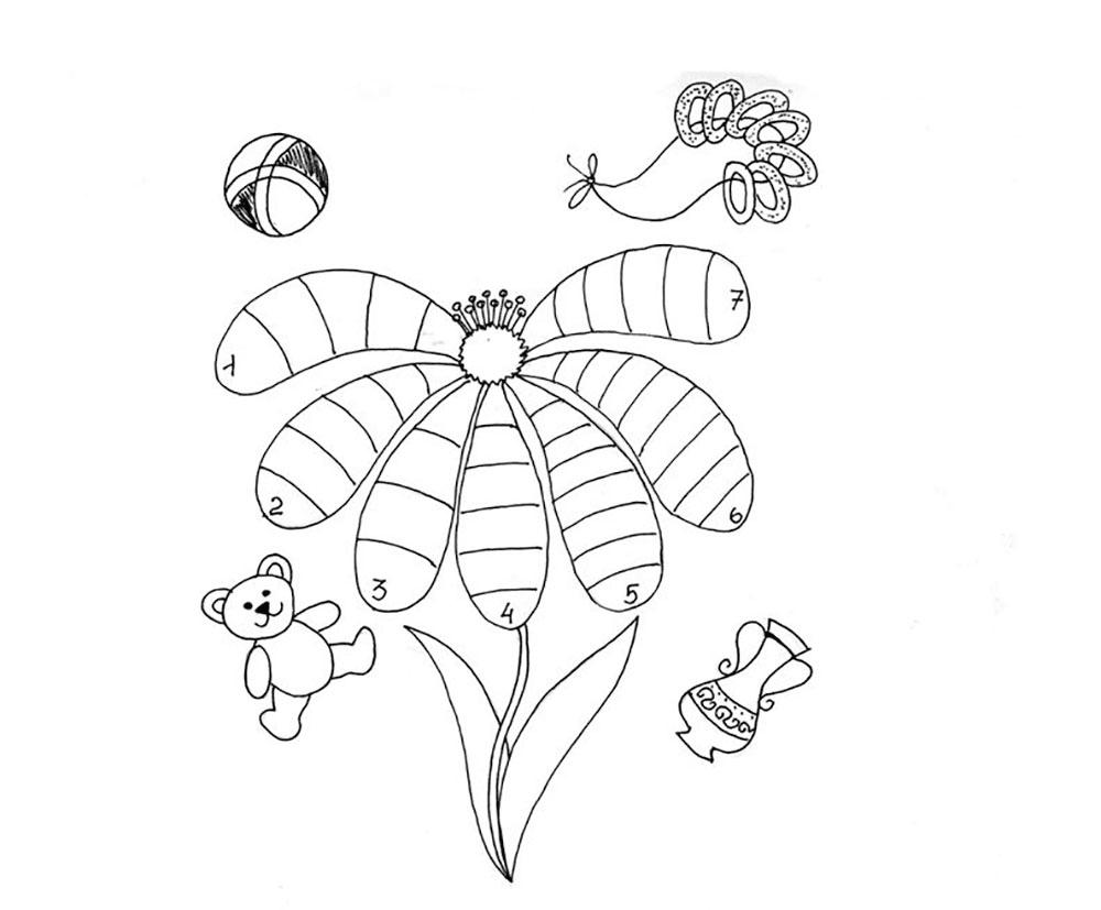 Gambar Mewarnai Bunga 8