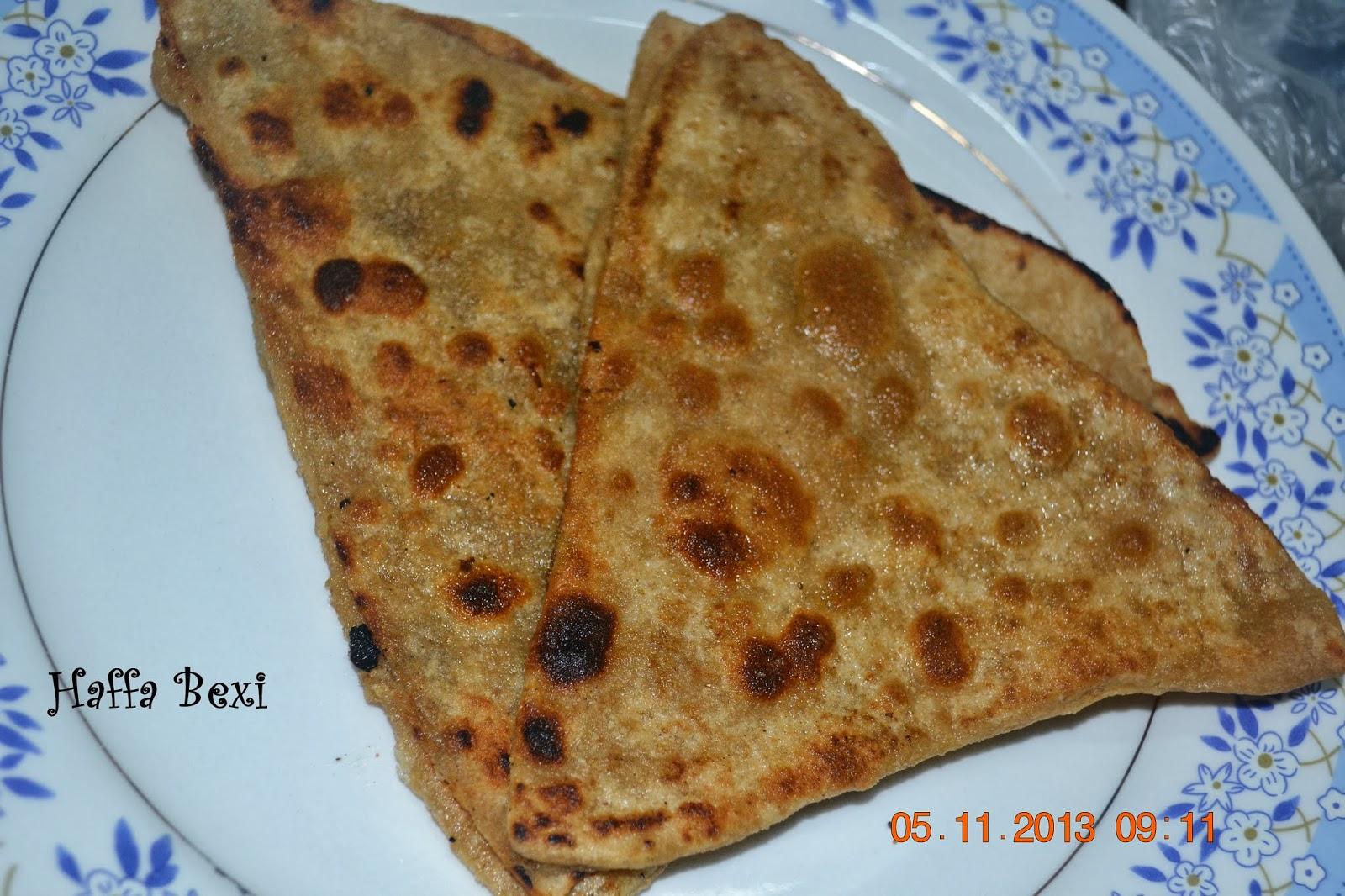 Triangle Paratha Haffa S Kitchen Adventures