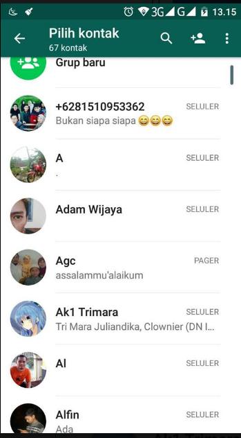 Cara Mengembalikan Kontak WA Hilang/Tidak Muncul di Android