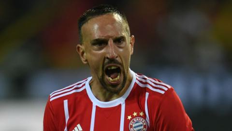 Năm ngoái, Franck Ribery không thể cùng Bayern đi hết mùa giải.