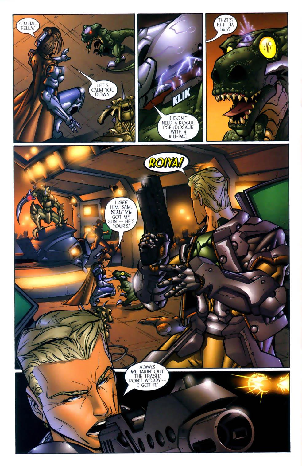 Read online Sigil (2000) comic -  Issue #1 - 21