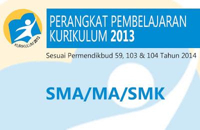 RPP Bahasa dan Sastra Indonesia SMA / SMK Kurikulum 2013