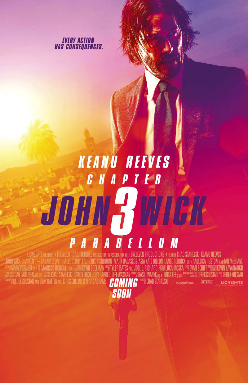 JOHN WICK: CHAPTER 3 - PARABELLUM poster