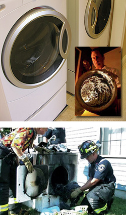 Is your Dryer Vent Fire Safe?