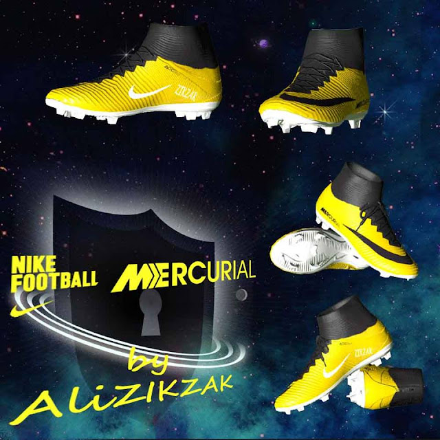 [PES 2017] New Nike Mercurial Fantasy Boot For PES 2017 by Ali_ZIKZAK