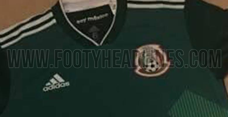 The Mexico 2018 World Cup football jersey introduces a ...