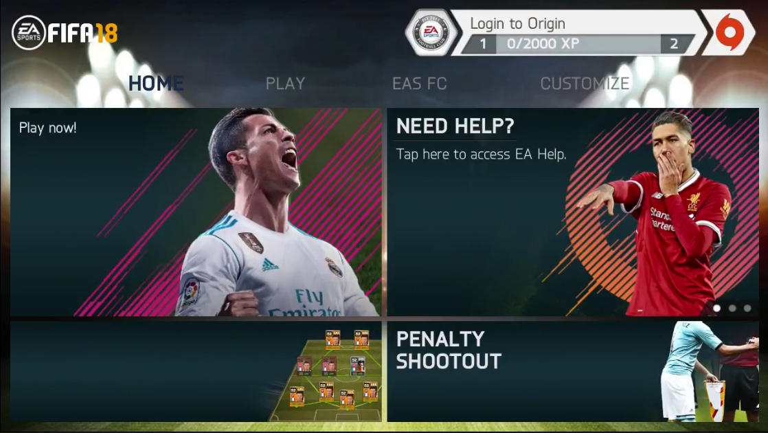 FIFA 14 Mod FIFA 18 Apk Obb