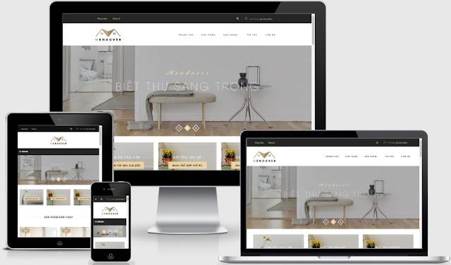 Mendover - Template blogspot bán căn hộ