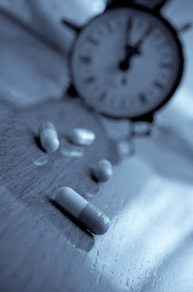 Clock and pills - sick of modern life and time pressures?