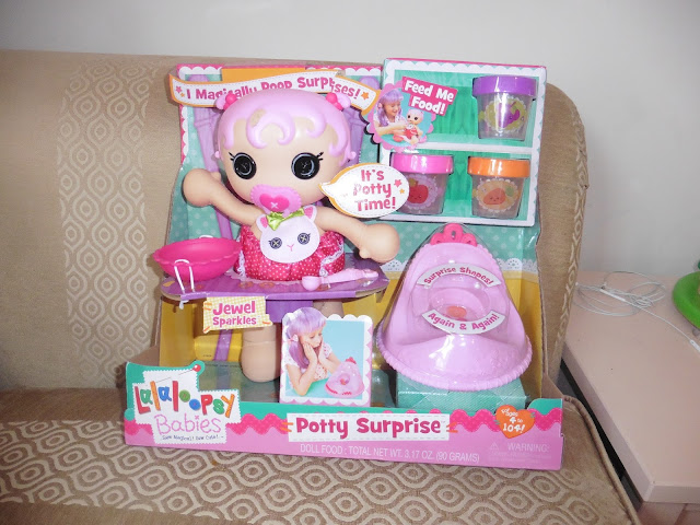 Lalaloopsy Potty Surprise review