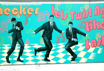 Chubby Checker Musical Icons of the Wildwoods Wall Mural in New Jersey