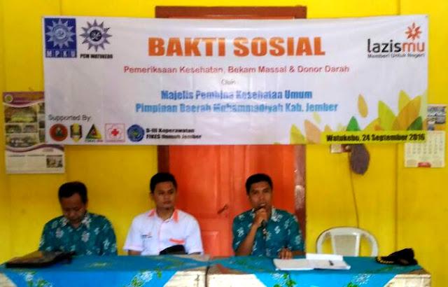 MPKU PDM Jember Bakti Sosial Peduli Dhuafa