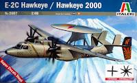Galerie photos de la maquette de l'E-2C Hawkeye d'Italeri au 1/48.