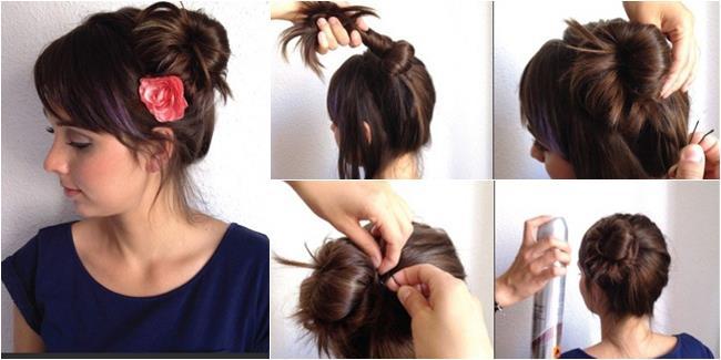 Kepang Rambut Sendiri