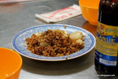 scallops and garlic