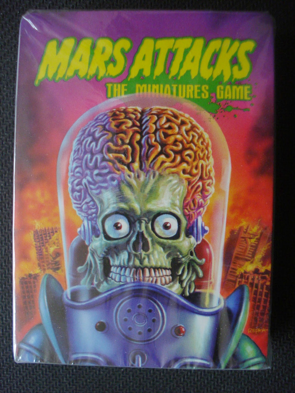 Gmorts Chaotica Unboxing Mars Attacks Miniatures Game