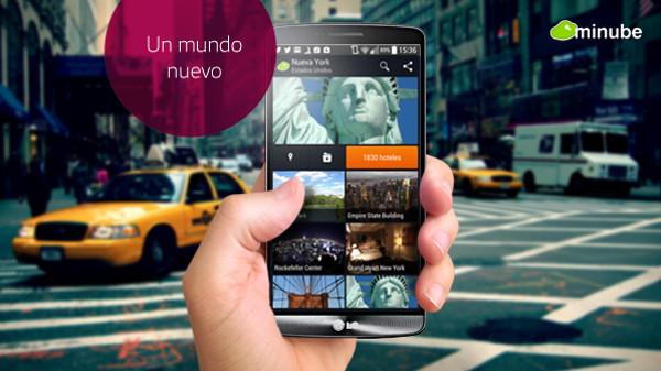 App viajes hospedaje Minube