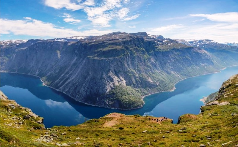 Trolltunga, Norway - The Most Beautiful And Dangerous Cliff In The World