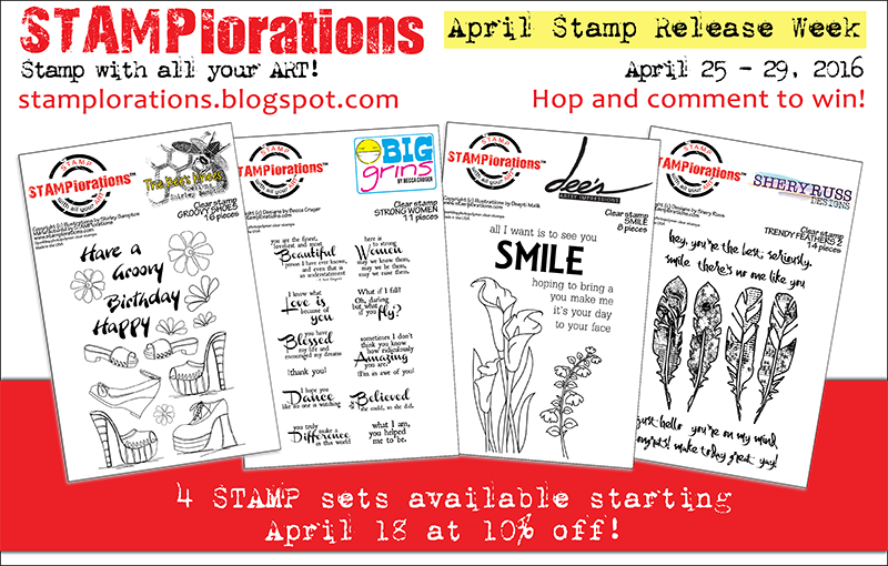APRIL STAMP RELEASE WEEK