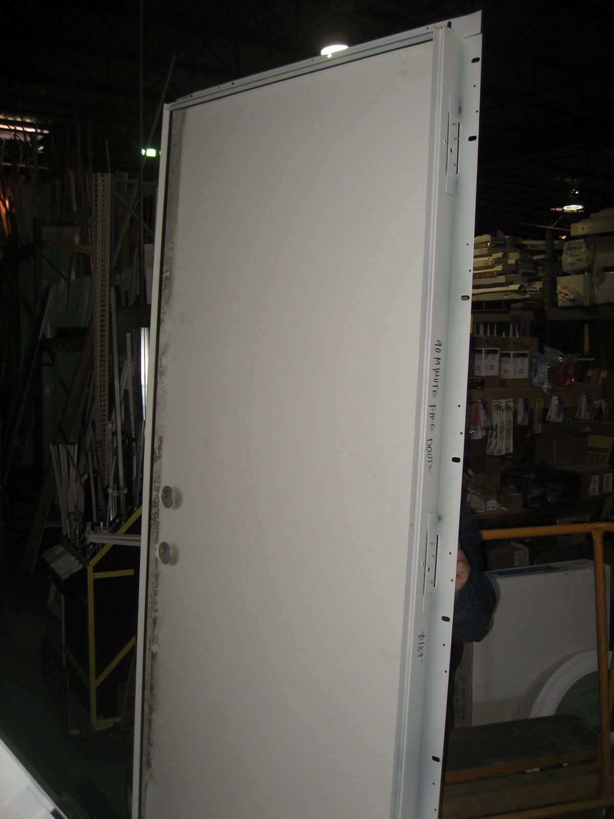 Blue Ridge Surplus 90 Minute Fire Rated Flush Metal Doors