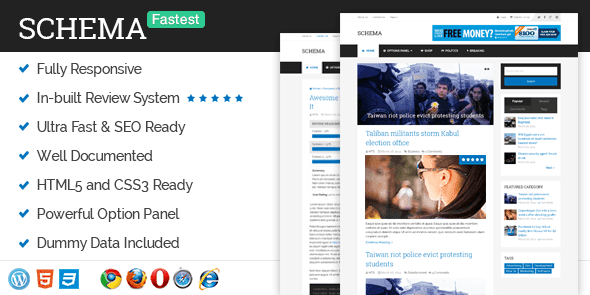 Schema v3.4.6 – Responsive Fastest SEO WordPress Theme