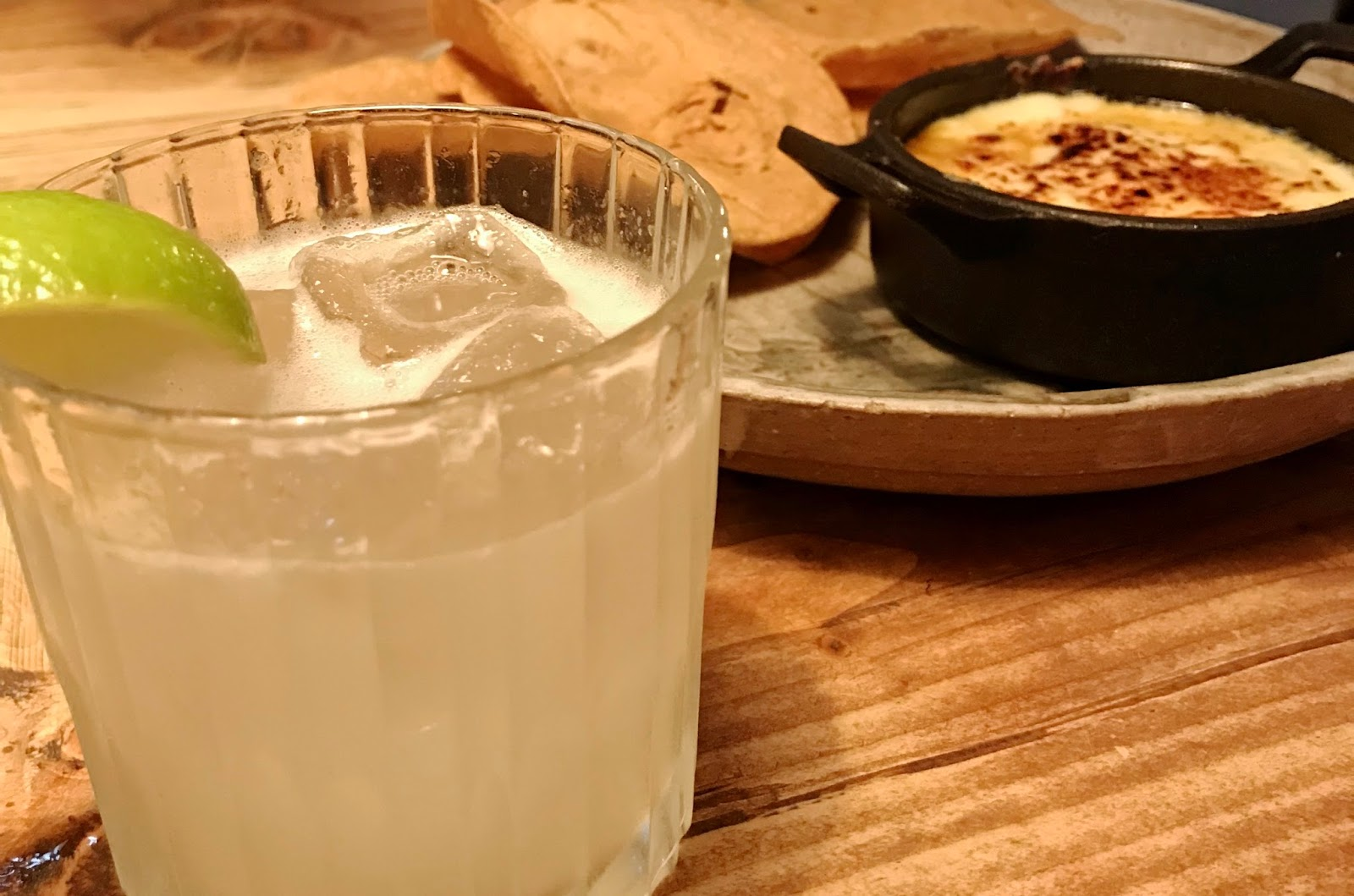Margarita and Queso Dip