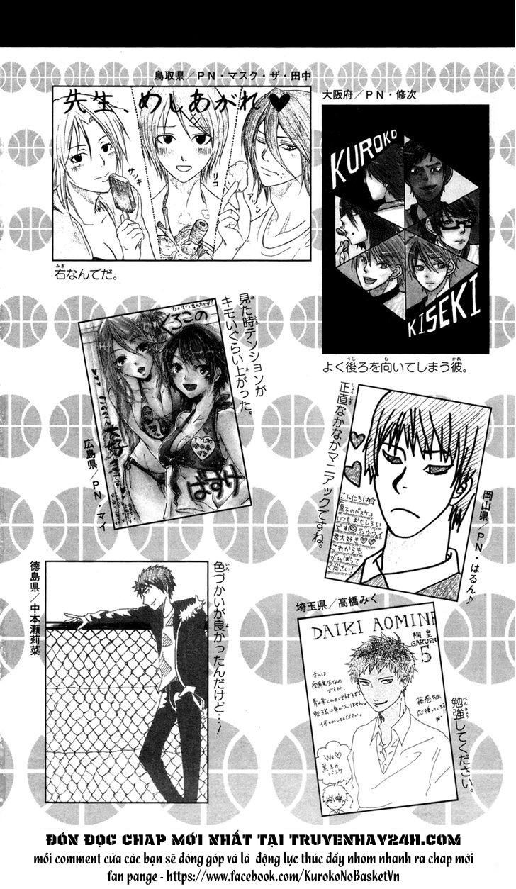 Kuroko No Basket bonus trang 10