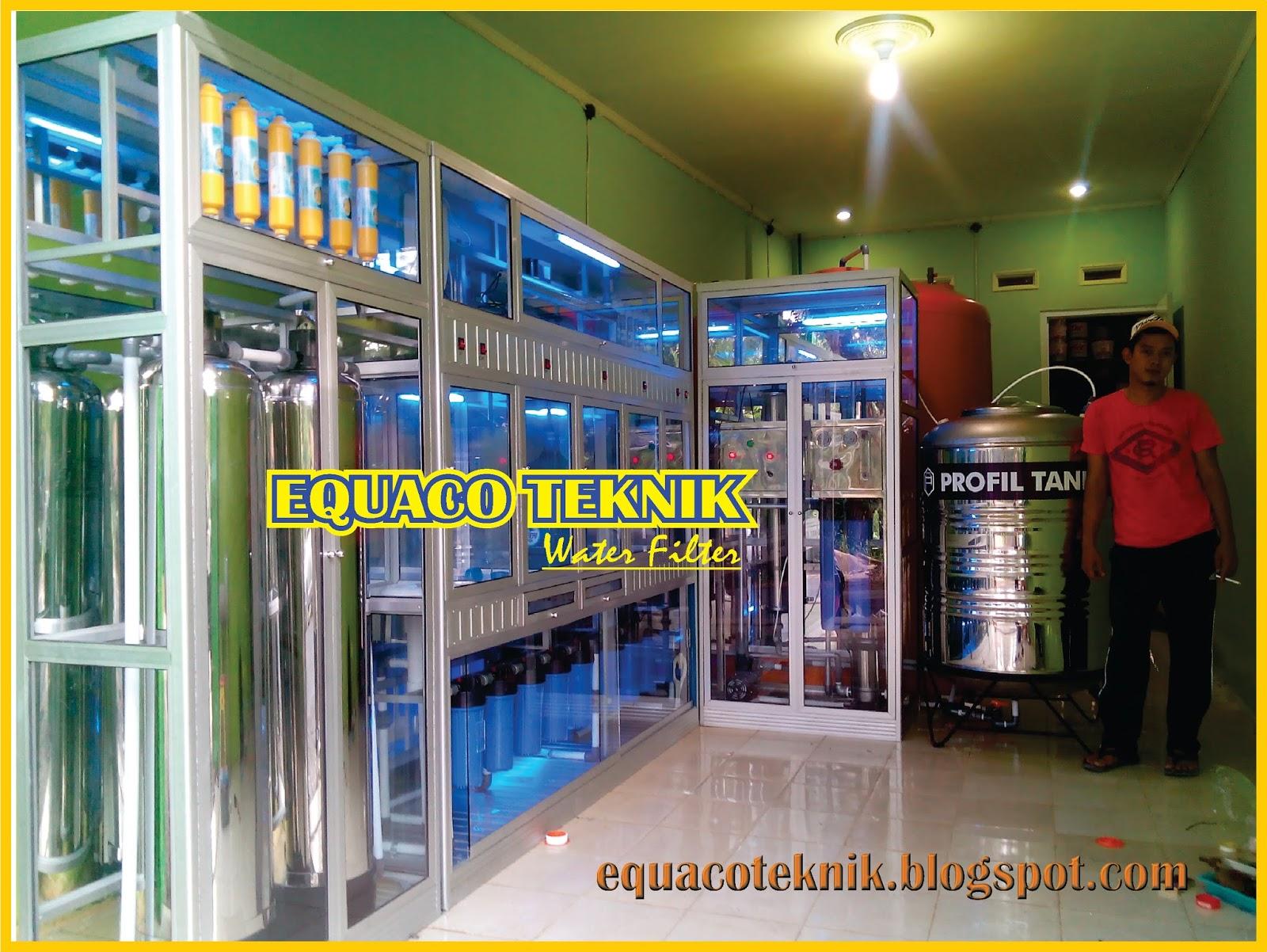 alat mesin depot air minum isi ulang teknisi bisnis depot