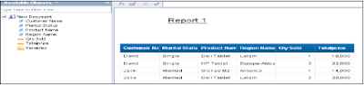 SAP HANA Crystal Reports