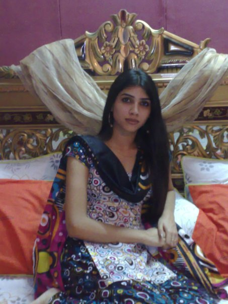 Indian Teen On Bed