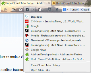 Undo Closed tabs has got more than 50k users