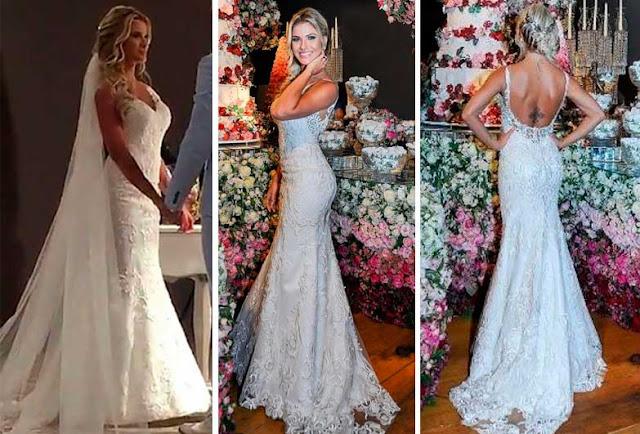 Andressa Suita vestido de noiva