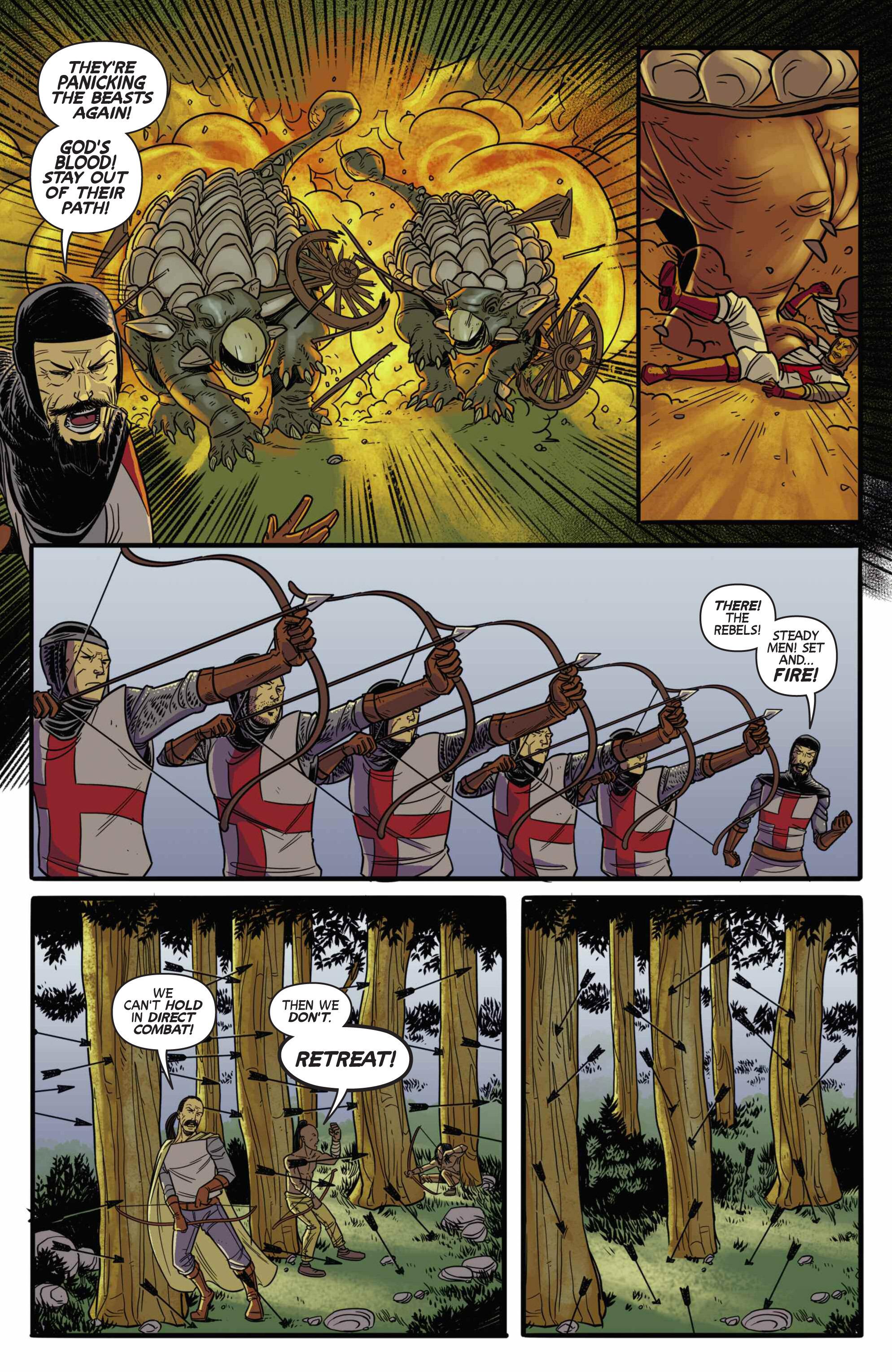 Read online Turok: Dinosaur Hunter (2014) comic -  Issue # _TPB 3 - 84