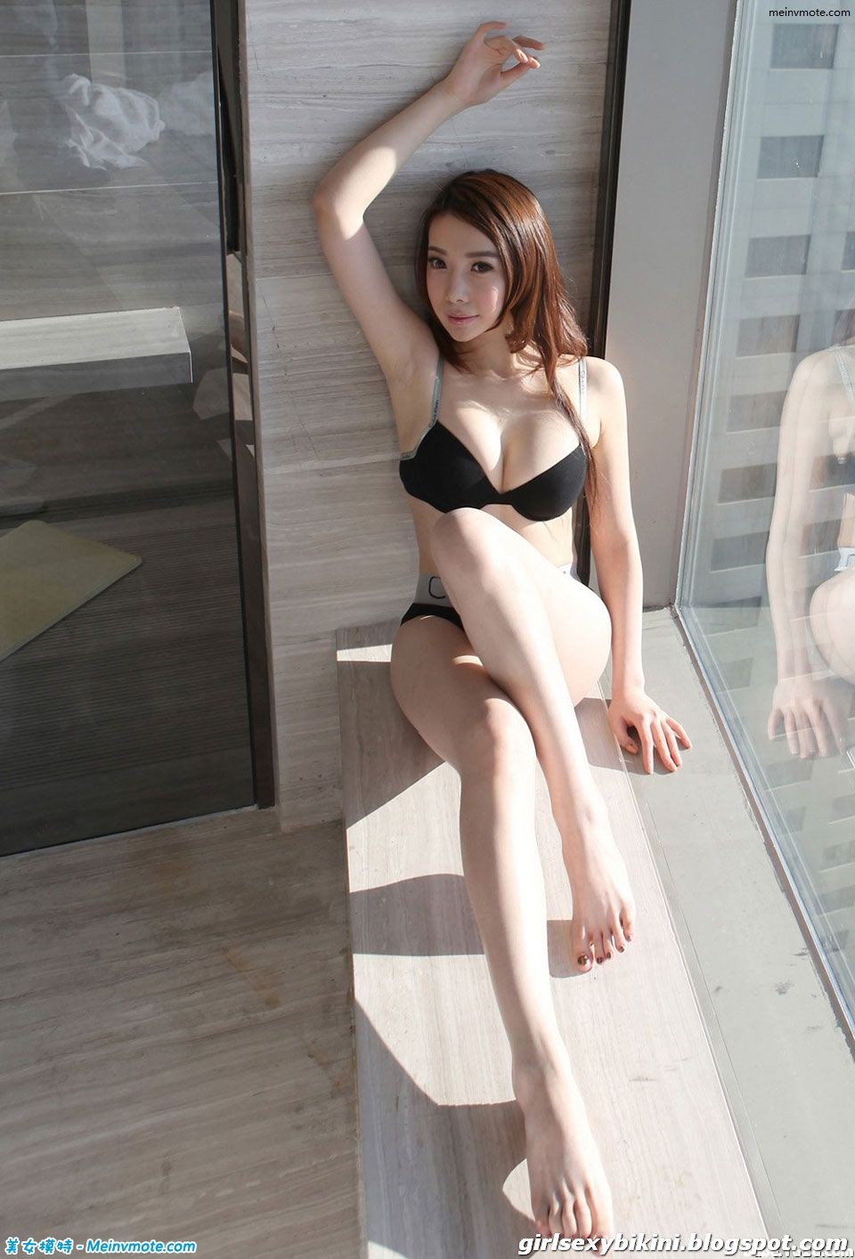 Han Ye Xin With Perfect Chest - Sexy Swimwear  Sexy -5038