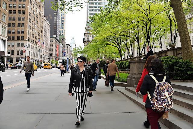 Stylizacje blogerek - NY