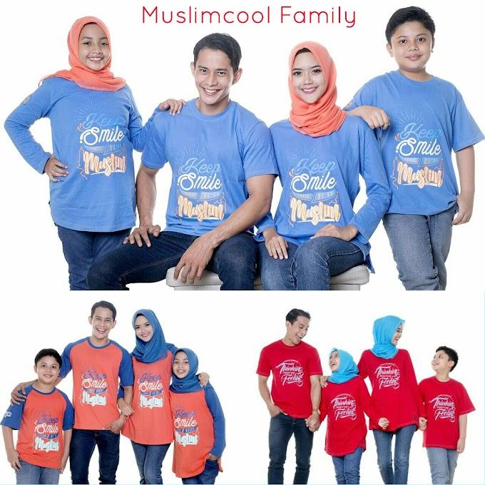 KAOS KELUARGA MUSLIM MUSLIMCOOL FAMILY 2017