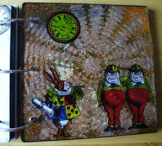 Alice in wonderland craft book