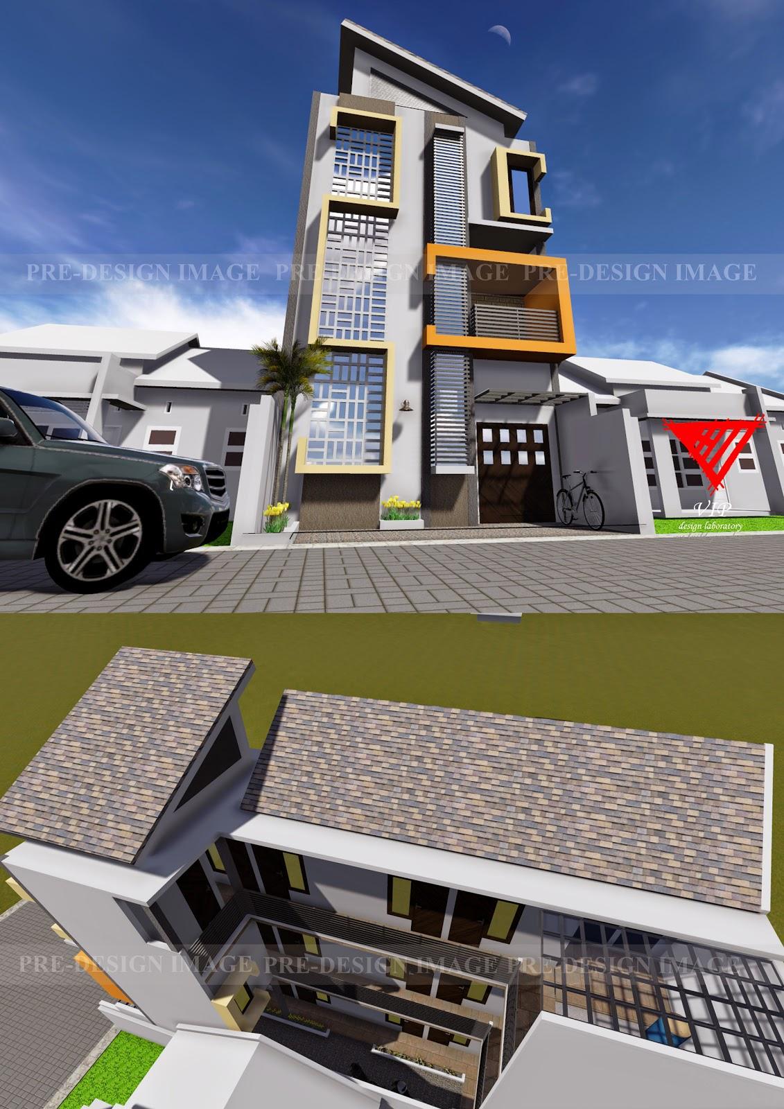 Desain Rumah Kos : desain, rumah, DESAIN, RUMAH, LAHAN, MEMANJANG