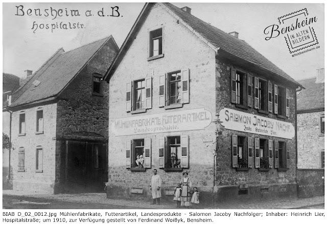 BIAB D_02_0012.jpg Hospitalstraße um 1910, Bild: Ferdinand Woißyk