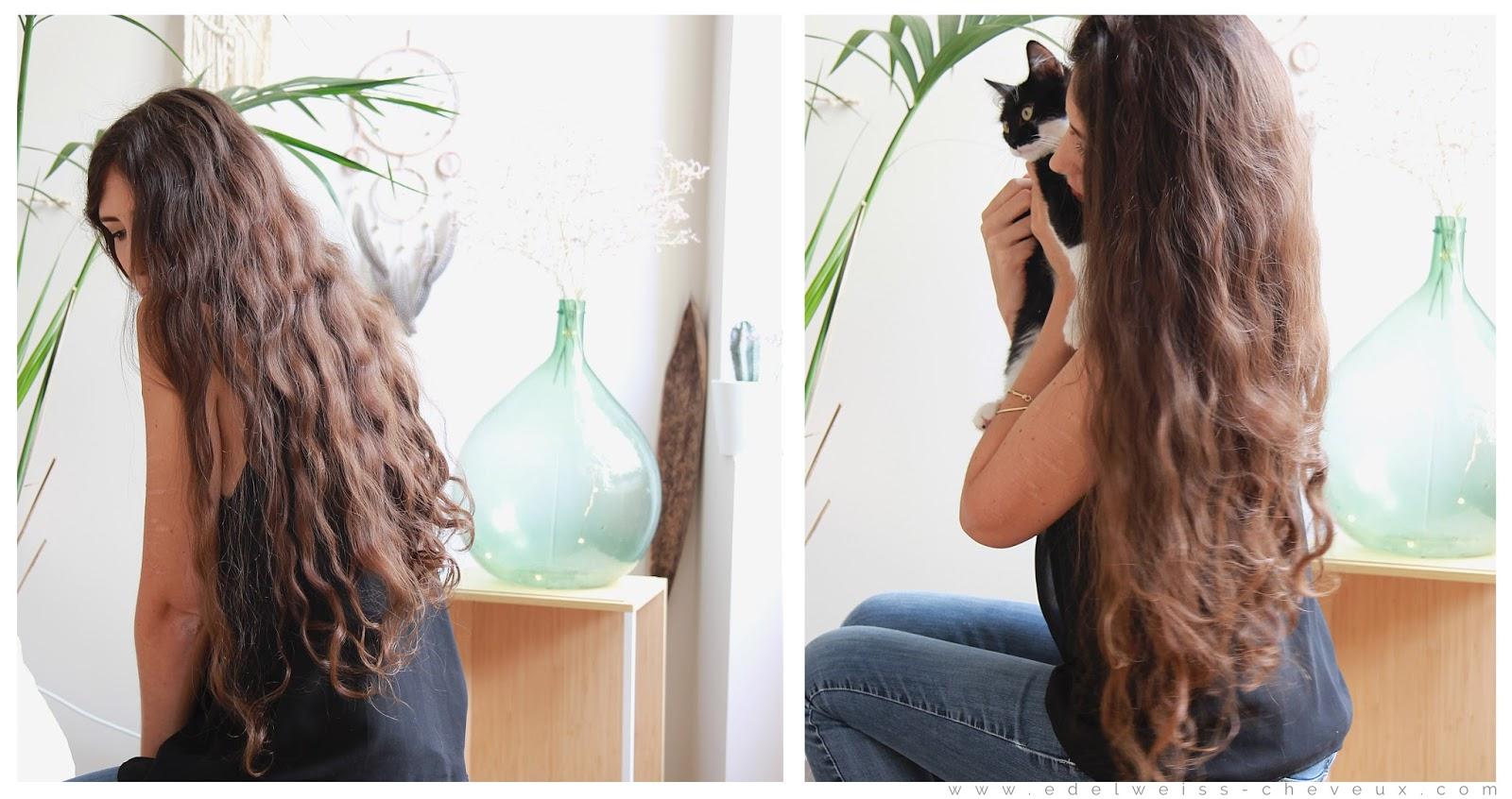 pousse des cheveux gingembre au naturel