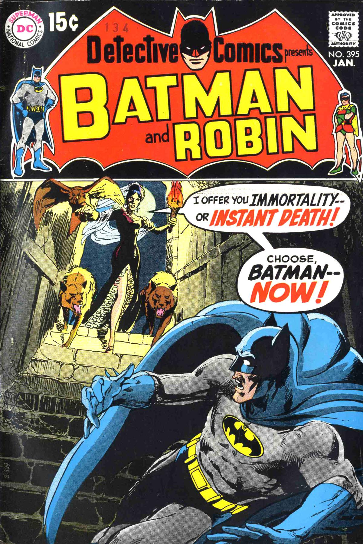 Detective Comics (1937) 395 Page 0