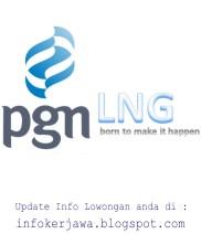 Lowongan Kerja BUMN PGN LNG Indonesia