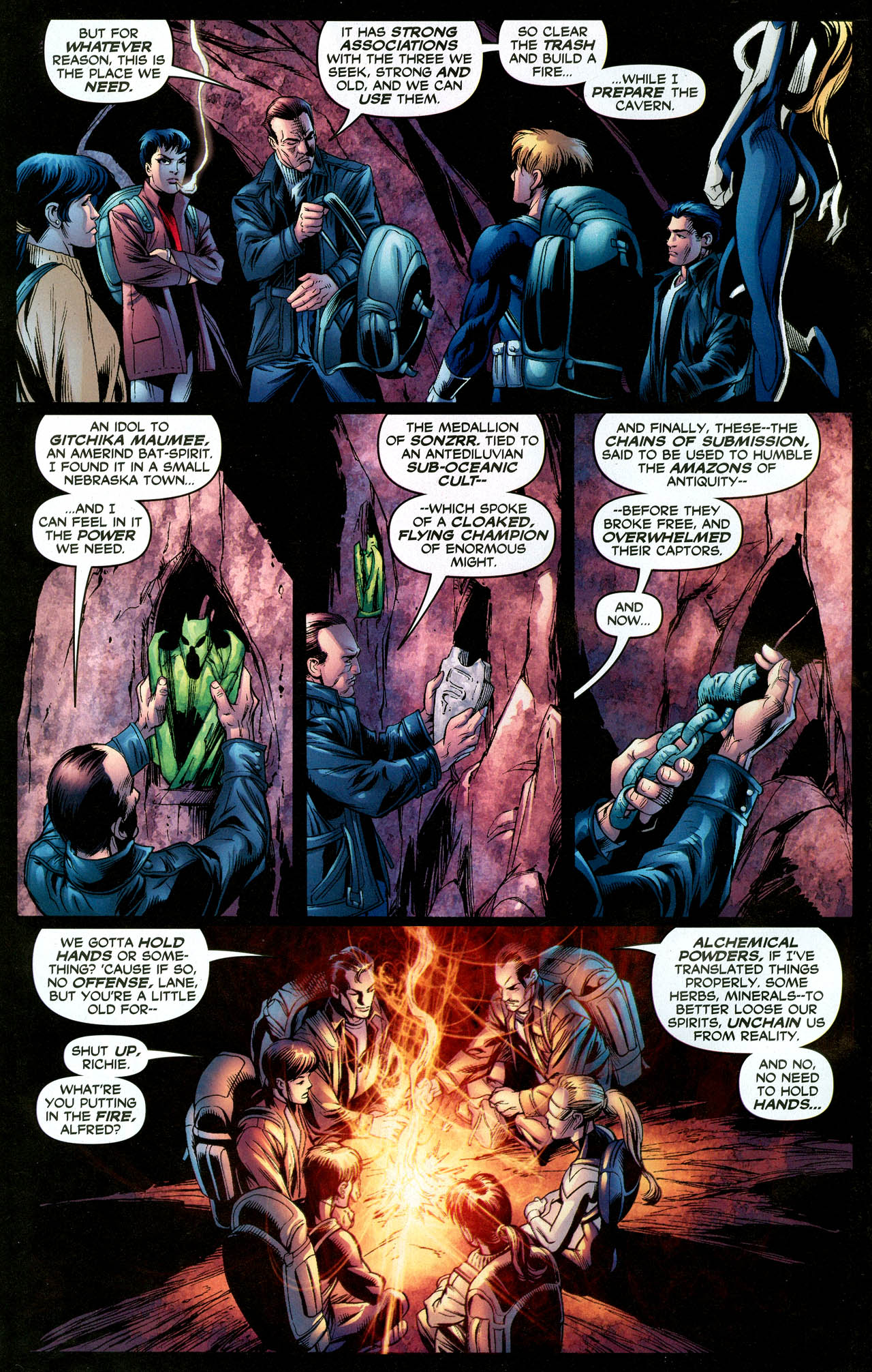 Read online Trinity (2008) comic -  Issue #28 - 6