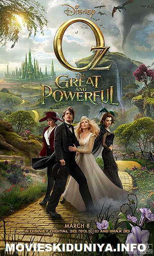 Oz the Great And Powerful (2013) Hindi Dual Audio 480p Bluray 500MB