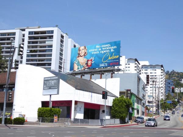 Chelsea Netflix talk show season 2 billboard